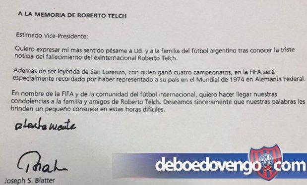 LA FIFA RECORD� A TELCH